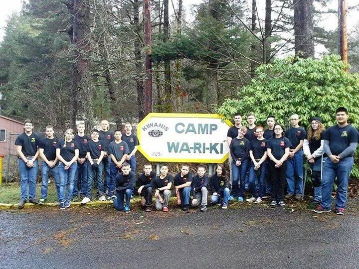 Young Marines at Camp Wa-Ri-Ki