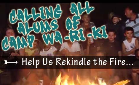 New Camp Wa-Ri-Ki Alumni Association Forming