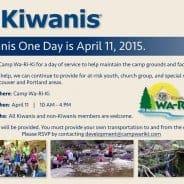 Kiwanis One Day at Camp