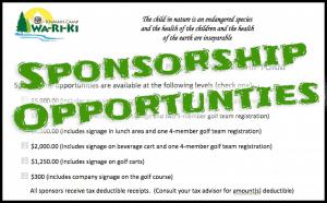 Golf Sponsorships