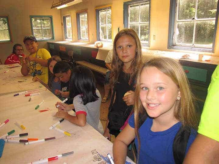 ColoringAtCamp
