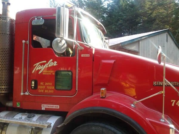 We thank Taylor Trucking for donating their delivery time and gravel to the Camp.