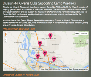To help make our supporting Kiwanis Clubs easy to find -- we've launched a new directory.