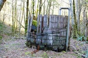 old well at Camp Wa-Ri-Ki