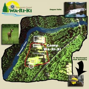 Camp Wa-Ri-Ki Vision Map