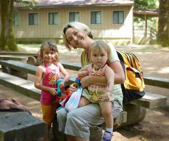 Desiree Costello and children