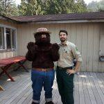Smokie Forest Ranger at Camp Wa-Ri-Ki on Washougal River
