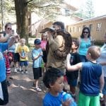 Snake Man at Day Camp for Nature Explorers