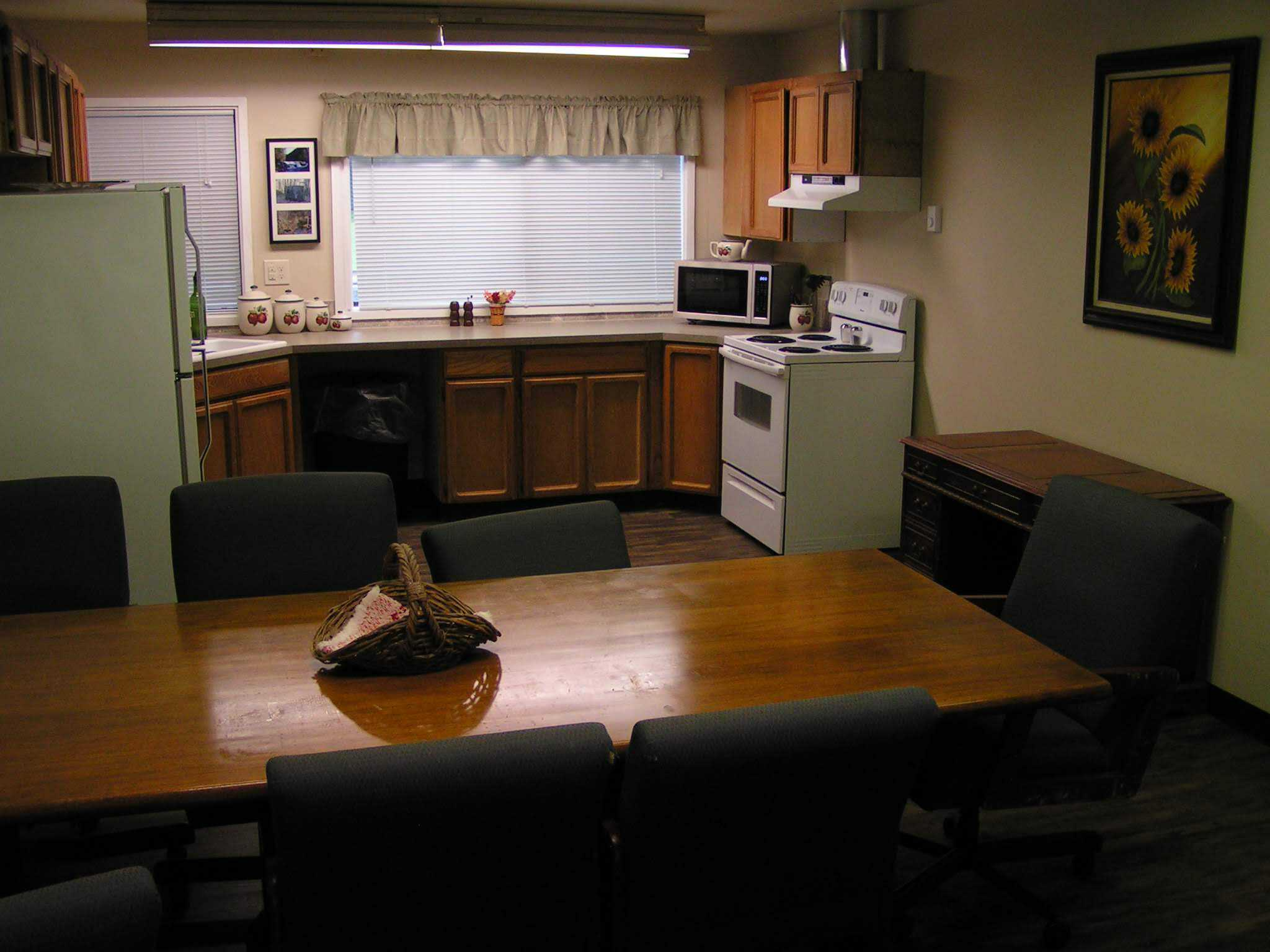 Retreat Center Kitchen Meeting Area