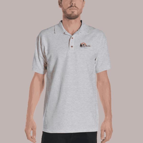 Camp Wa-Ri-Ki Embroidered Polo Shirt 4