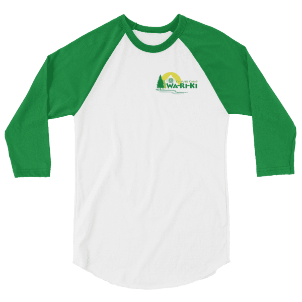 Camp Wa-Ri-Ki 3/4 sleeve raglan shirt 2