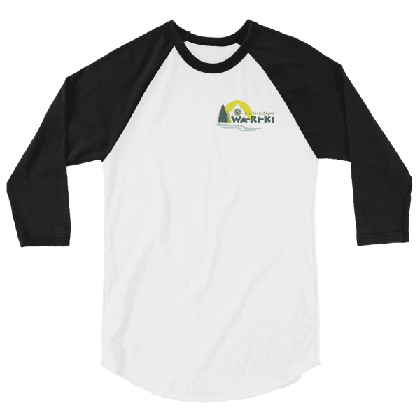 Camp Wa-Ri-Ki 3/4 sleeve raglan shirt 1