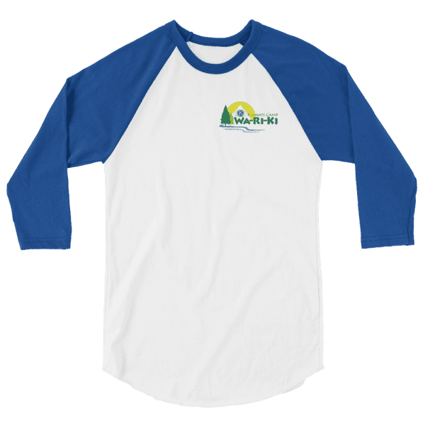 Camp Wa-Ri-Ki 3/4 sleeve raglan shirt 4