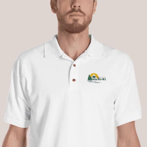 Camp Wa-Ri-Ki Embroidered Polo Shirt 1