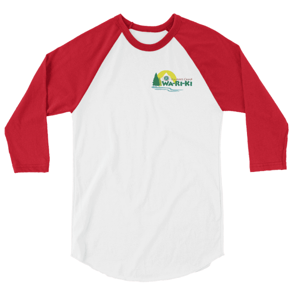 Camp Wa-Ri-Ki 3/4 sleeve raglan shirt 3