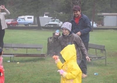 Chalk Tag Game at Camp Wa-Ri-Ki