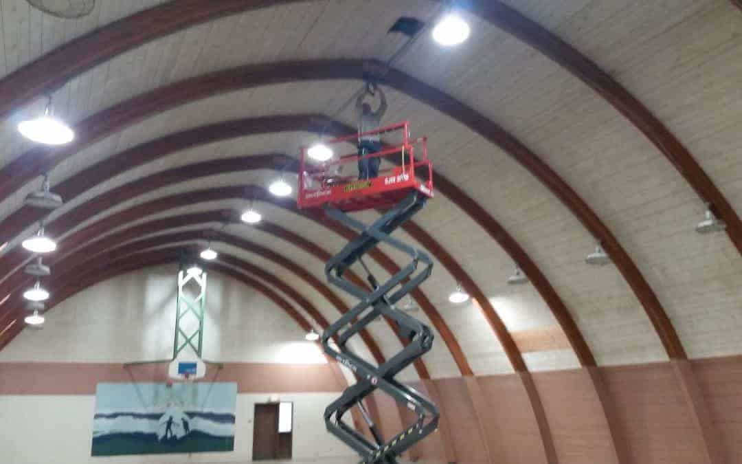 Gym Improvements at Camp Wa-Ri-Ki