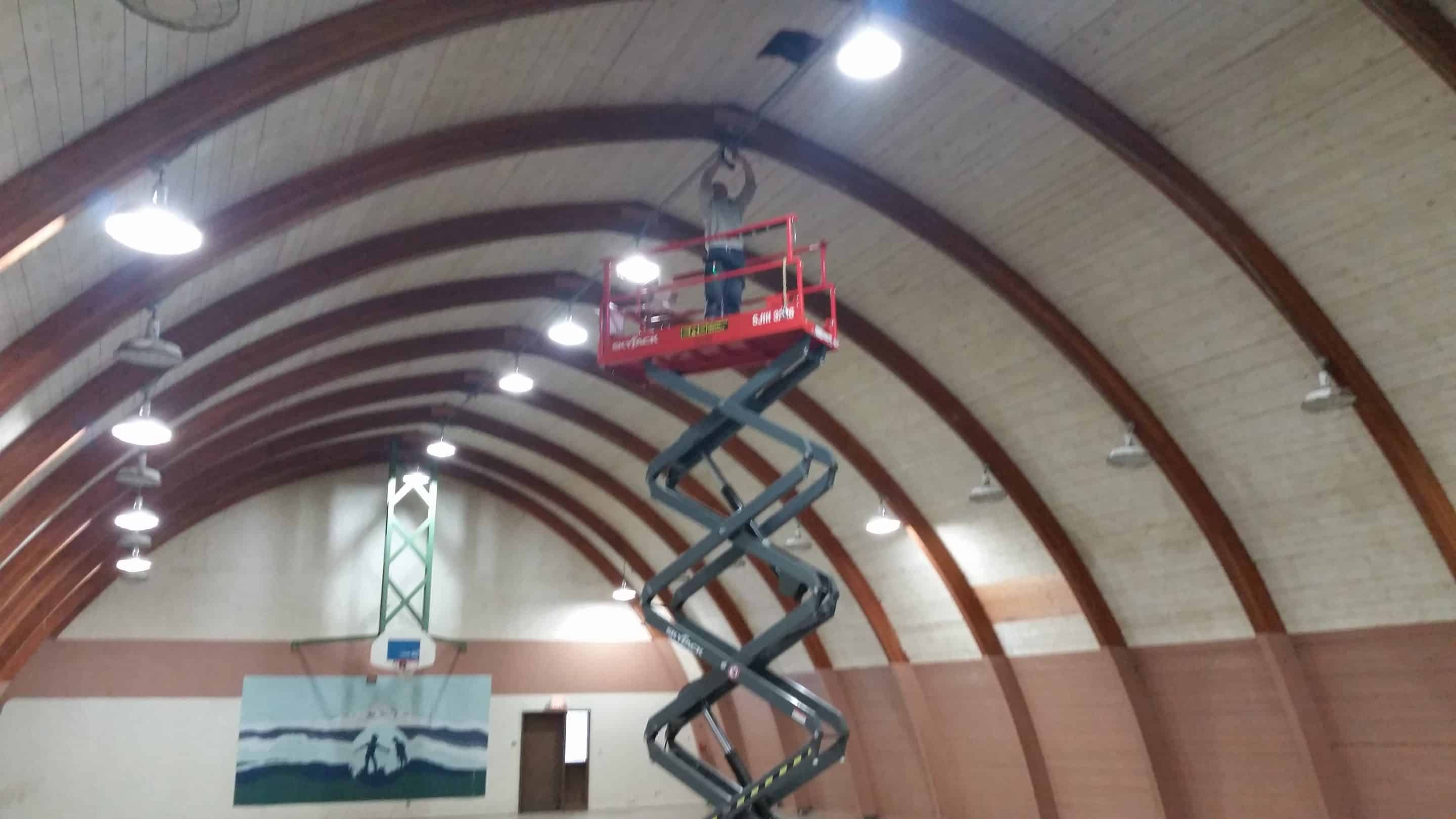 Gym Improvements at Camp Wa-Ri-Ki 2