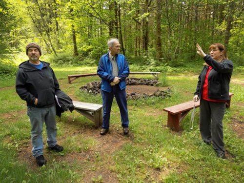 Tent area upgrades at Camp Wa-Ri-Ki