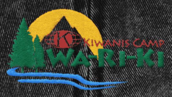 Vintage Embroidered Wa-Ri-Ki Cotton Twill Cap 3