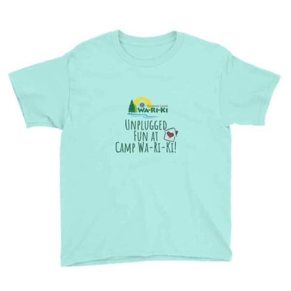 Camp Wa-Ri-Ki Youth Short Sleeve T-Shirt 3