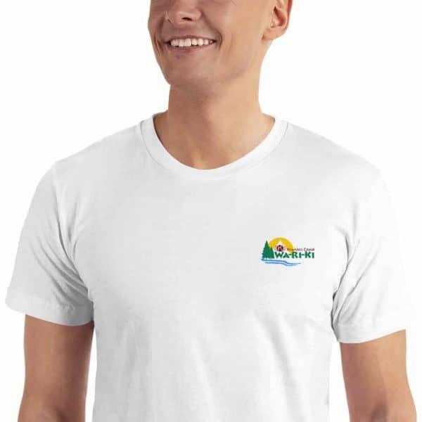 Camp Wa-Ri-Ki Embroidered T-Shirt 1