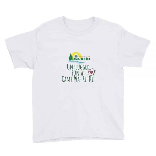 Camp Wa-Ri-Ki Youth Short Sleeve T-Shirt 1