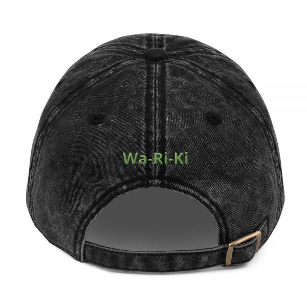 Vintage Embroidered Wa-Ri-Ki Cotton Twill Cap 2