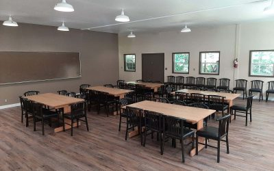 Newly Finished at the Camp: Conference Room for Retreats