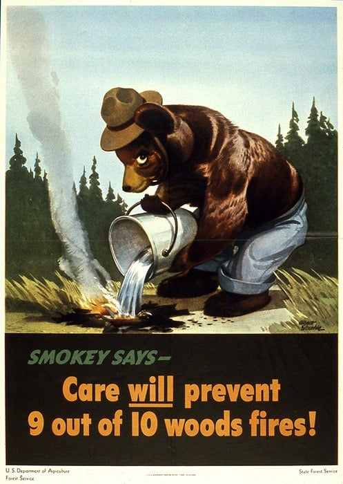 Smokey Bear original campaign