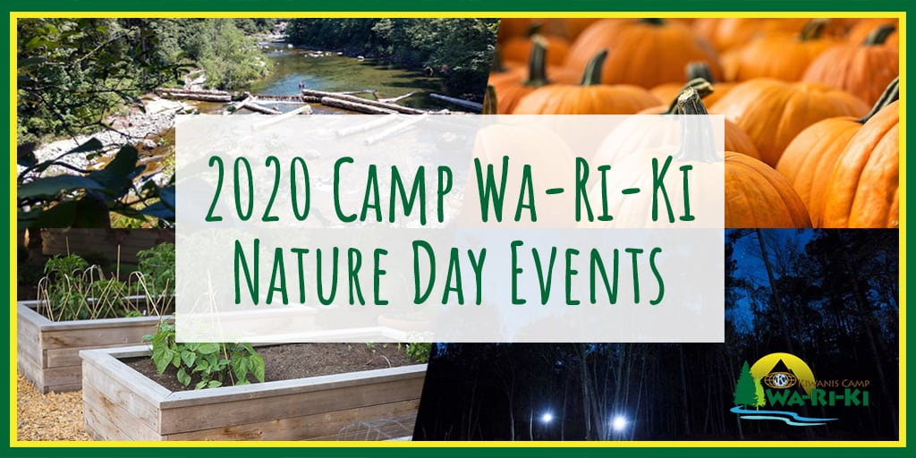 Don't Miss Out on Our Fun 2020 Outdoor Camp Events!