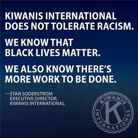 Kiwanis Statement on Racism