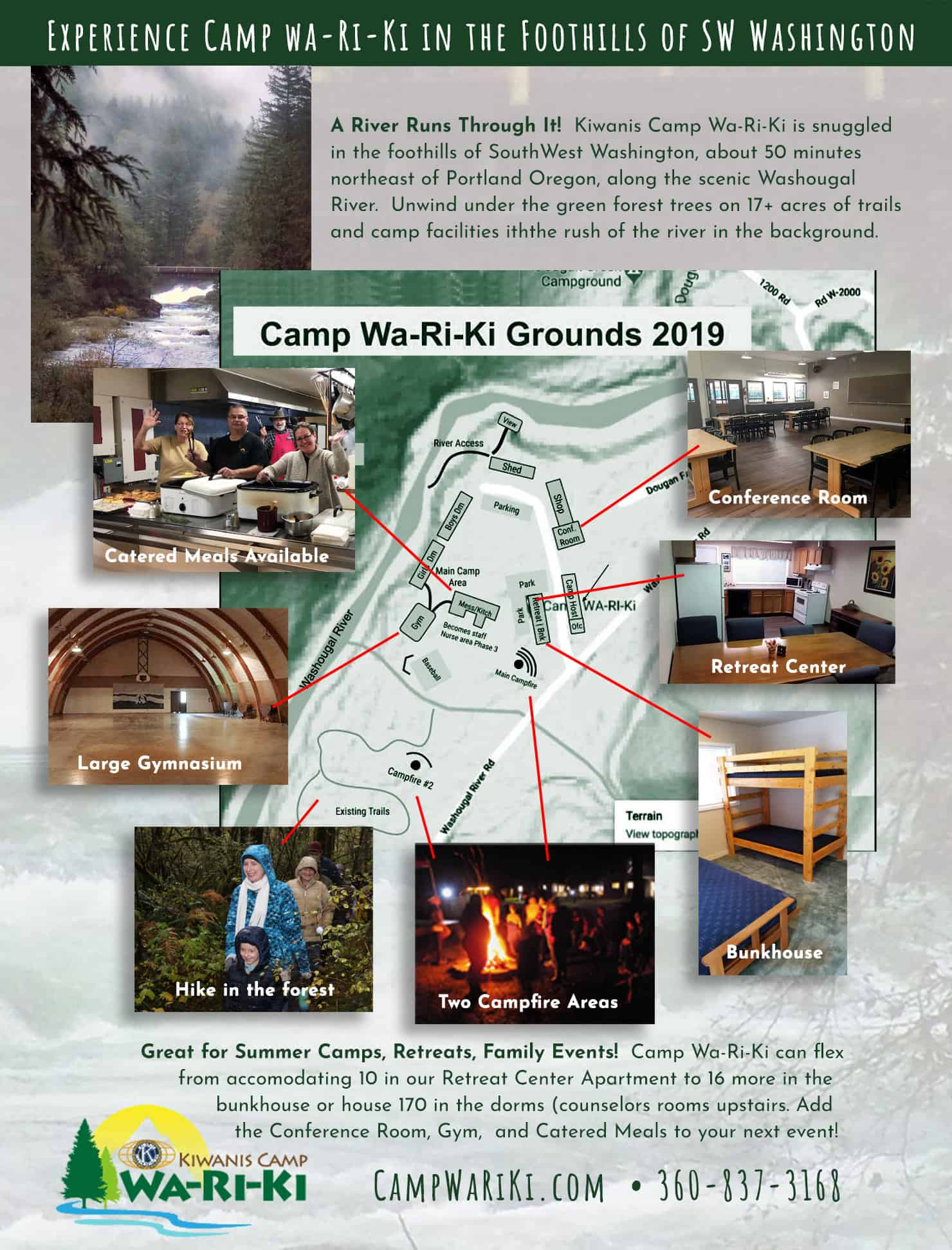 Camp Wa-Ri-Ki Grounds and Amenities